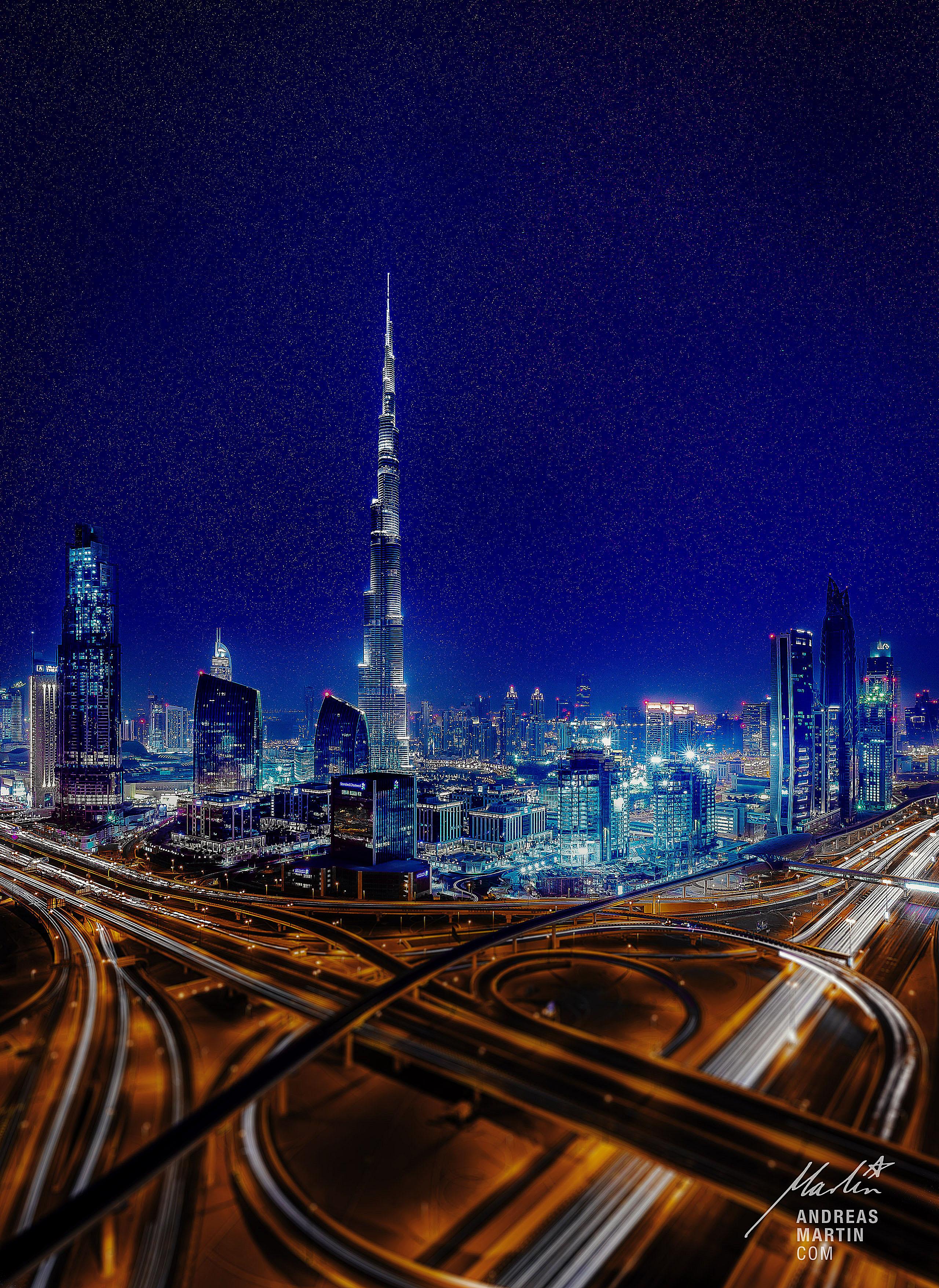 00001-Fotograf-Werbefotograf-Stuttgart-Andreas-Martin-Burj-Khalifa-at-night