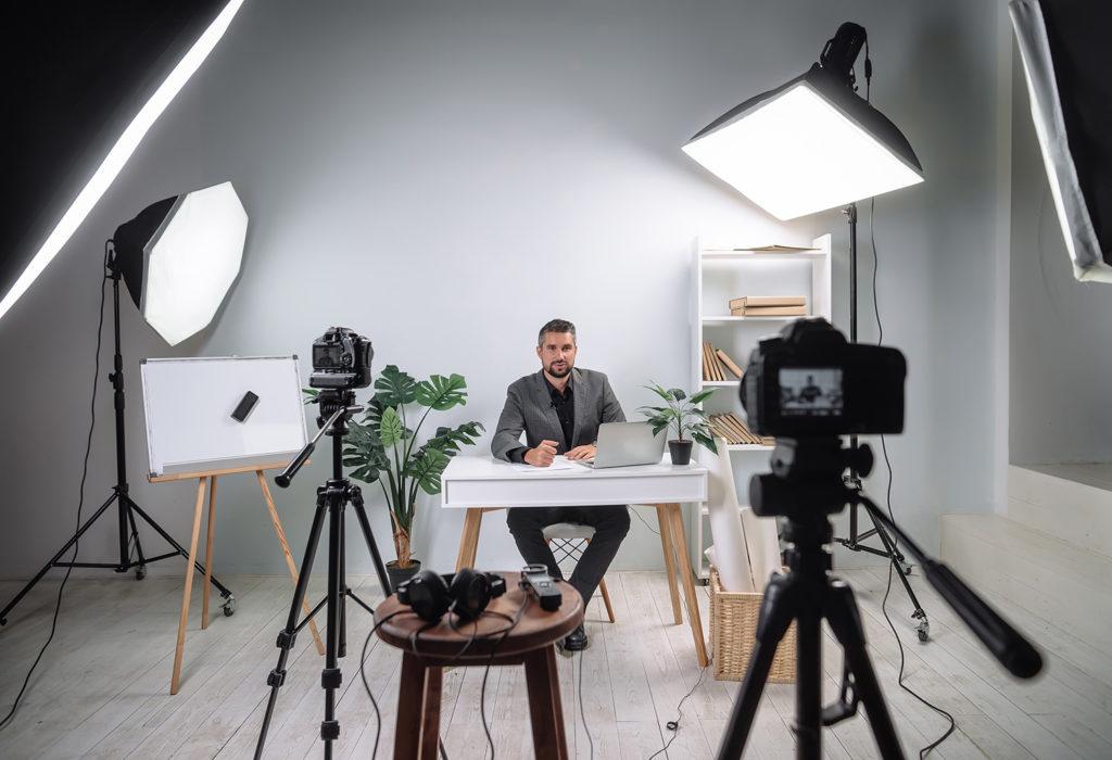 Videoproduktion in Ihrem Unternehmen aufbauen